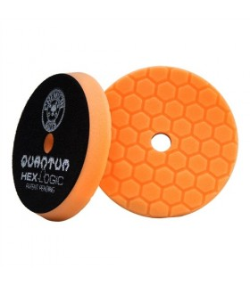 Chemical Guys Hex-Logic Quantum Medium-Heavy Cutting Pad, Orange (5.5 Inch) - burete polish putere medie spre mare