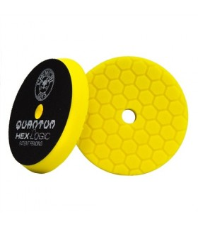 "Chemical Guys Hex Logic Quantum Heavy Cutting Pad yellow 5.5""- burete putere mare de taiere"