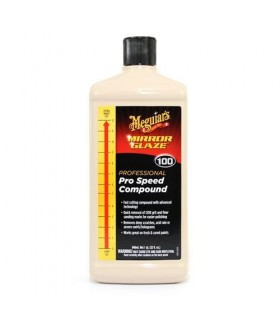 Meguiar's Mirror Glaze 100 Professional Pro Speed Compound - Pasta abraziva