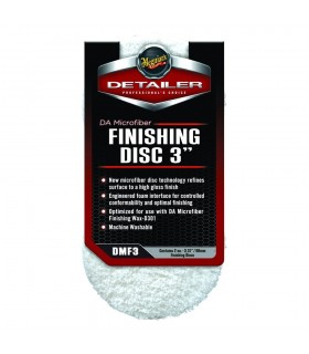 "Meguiar's Da Microfiber Finishing Disc 3""- pad microfibra de finish"