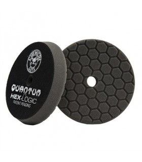 Chemical Guys Hex Logic Quantum Finishing Pad Black (6.5 Inch)- burete finish