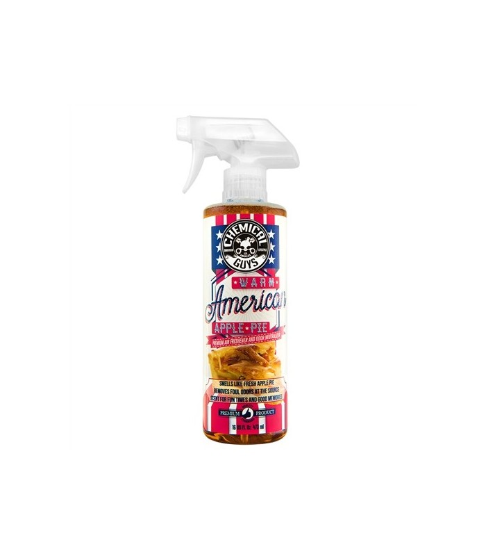 Chemical Guys Warm American Apple Pie Premium Air Freshener & Odor Neutralizer