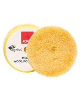 Rupes Medium Wool Polishing Pad - burete lana galben fin 150/170mm