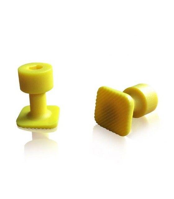Laka Tools Ventuza PDR tabs 15x15mm culoare galbena