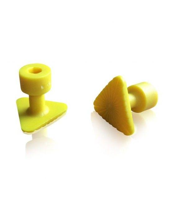 Laka Tools Ventuza PDR tabs 23x23x23mm culoare galbena