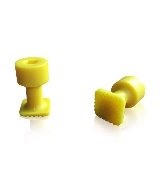 Laka Tools Ventuza PDR tabs 12x12mm culoare galbena