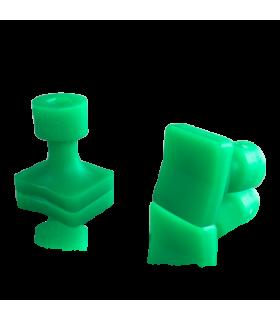 Laka Tools Ventuza PDR tabs 20x16mm culoare verde