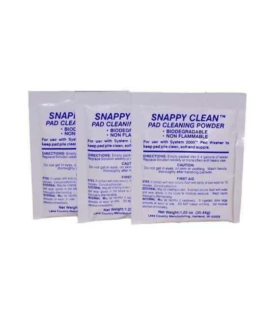 Snappy Clean - Pudra curatare pad-uri