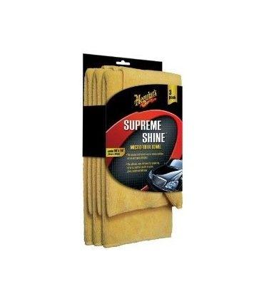 Meguiar's Supreme Shine Microfiber Towel (3 pack) - X2020