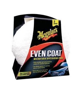 Meguiar's Even Coat Applicator Pads - aplicatoare din microfibra - 2 buc - X3080
