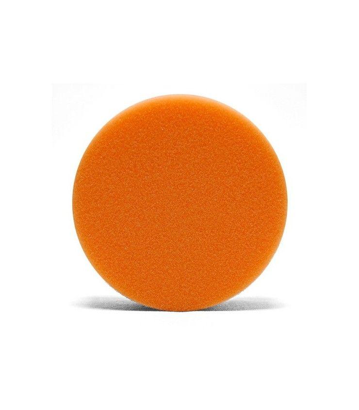 Lake Country 4 Inch Flat Orange Light Cutting pad - burete polish